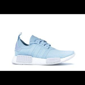 NMD R1 Icey Blue and White